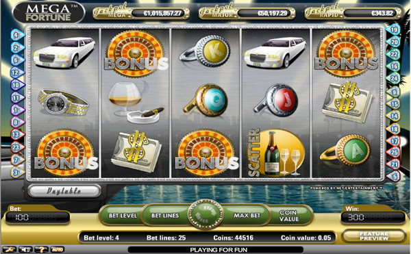 jackpotcity online casino mega fortune