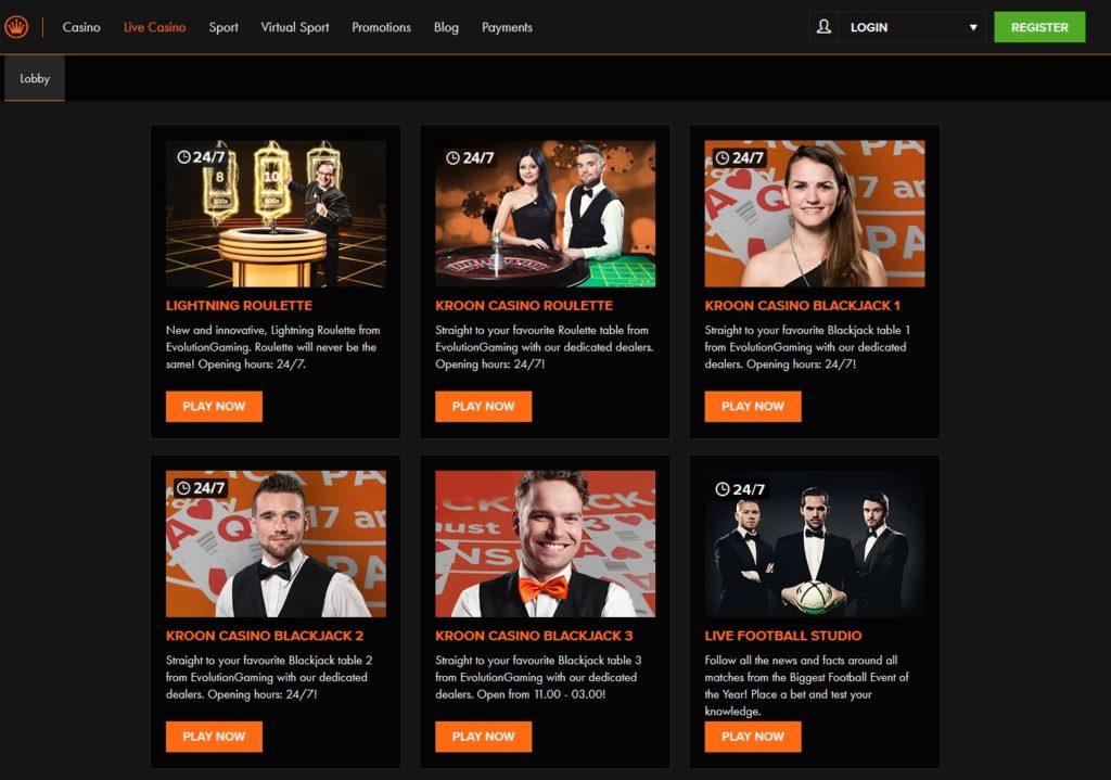 kroon online casino
